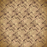 Seamless worn textile pattern of equipment and circuits for CCTV Royalty Free Stock Image