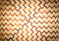 Seamless woven bamboo pattern Stock Photo