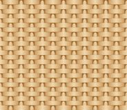 Seamless woven illustration background of straw mat. Vector pattern image royalty free illustration