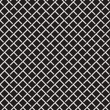 Seamless woven stripes lattice pattern. Modern stylish texture. Repeating abstract background with interlacing lines. Simple monochrome grid royalty free illustration