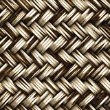 A seamless woven wicker material royalty free illustration