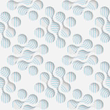 Seamless Wrapping Pattern. Abstract Tracery Background Royalty Free Stock Photography