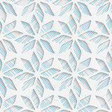 Seamless Wrapping Pattern. Abstract Tracery Background Stock Photography