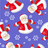 Seamless xmas  ornament in color 73 Royalty Free Stock Photo