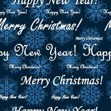 Seamless xmas pattern Royalty Free Stock Images