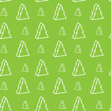 Seamless xmas-tree pattern. Seamless green christmas-tree pattern Stock Images