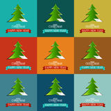 Seamless Xmas Vector Wrapping Paper. Royalty Free Stock Images