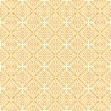 Seamless yellow background Stock Photography