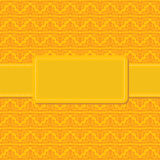 Seamless yellow background Stock Image
