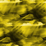 Seamless yellow background watercolor texture Royalty Free Stock Image