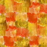 Seamless yellow, brown circle background Stock Image