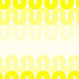Seamless yellow dunes geometric pattern Stock Photo