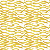 Seamless yellow gold pattern Royalty Free Stock Photos