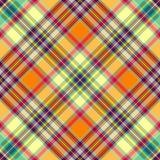 Seamless yellow-orange pattern Royalty Free Stock Images