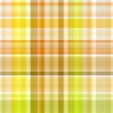 Seamless Yellow Tartan Fabric Royalty Free Stock Images