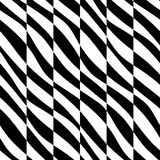 Seamless Zebra Background Royalty Free Stock Images