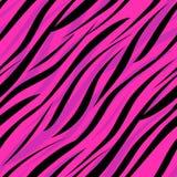 Seamless zebra skin african pattern Royalty Free Stock Photos
