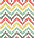 Seamless zig zag geometric pattern. Seamless zig zag geometric textured pattern Royalty Free Stock Image