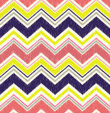Seamless zig zag geometric pattern. Seamless zig zag geometric textured pattern royalty free illustration