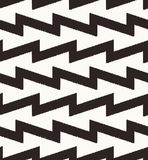 Seamless zig zag geometric pattern. Seamless zig zag geometric textured pattern Royalty Free Stock Photography