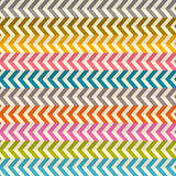 Seamless Zig Zag Paper Background Royalty Free Stock Image
