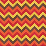 Zig zag pattern. A seamless zig zag pattern in  four colours Stock Photo