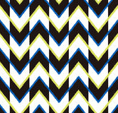 Seamless zig zag pattern. Seamless geometric zig zag pattern Royalty Free Stock Photography