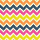 Seamless zig zag pattern Stock Image