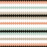 Seamless zig zag stripes textured pattern Stock Images