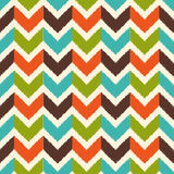 Seamless zig zag stripes textured pattern Stock Photos