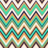 Seamless zigzag background pattern Royalty Free Stock Photography