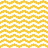 Seamless  ZigZag Chevron Pattern. Yellow and white  background. Royalty Free Stock Photography