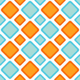 Seamless zigzag diamonds backgound pattern Stock Photo