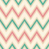 Seamless zigzag fabric pattern Royalty Free Stock Photos
