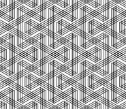 Seamless zigzag lines pattern. Royalty Free Stock Photos