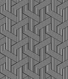 Seamless zigzag lines pattern. Geometric texture. Royalty Free Stock Image