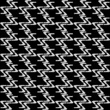 Seamless zigzag pattern #1. Royalty Free Stock Image