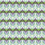 Seamless zigzag pattern Stock Photography