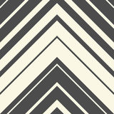 Seamless ZigZag Pattern. Abstract Black and White Arrow Backgrou. Nd. Vector Regular Texture. Minimal Zig Zag Design Royalty Free Stock Photo