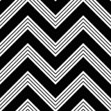 Seamless ZigZag Pattern Stock Photo