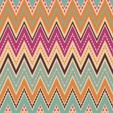 Seamless zigzag pattern geometrical background Stock Image