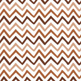 Seamless zigzag pattern. Iced coffee and white colors. Royalty Free Stock Photo