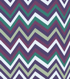 Seamless zigzag pattern of parallel lines. Geometric wave. Seamless background with horizontal black stripes in zigzag. Royalty Free Stock Photography