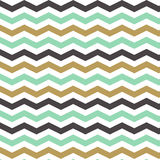 Seamless Zigzag Pattern in pastel colors. Vector illustration. Stock Photography