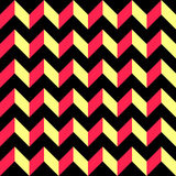 56-4-2. Seamless ZigZag Pattern. Vector Regular Texture Royalty Free Stock Photography