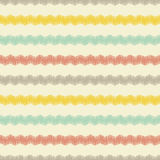 Seamless zigzag pattern Stock Photography