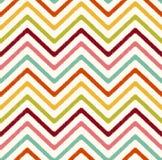Seamless zigzag stripes fabric background vector illustration