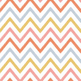 Seamless zigzag stripes pattern Stock Images