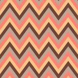 Seamless zigzag stripes pattern Stock Photos
