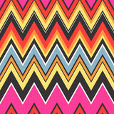 Seamless zigzag textured wallpaper pattern Stock Image